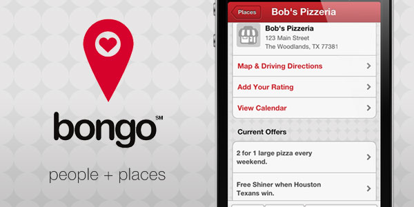 Bongo iPhone application