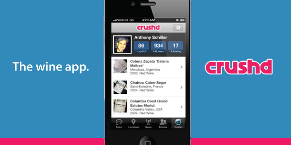 Crushd iPhone application